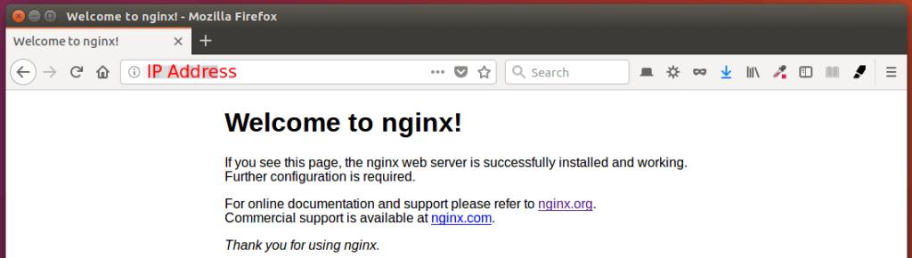 install lemp on ubuntu